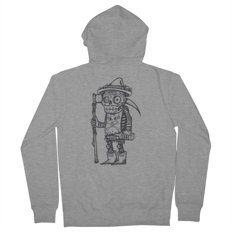 Death Waits Women's Zip-Up Hoody by wotto's Artist Shop
