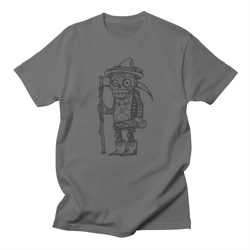 Death Waits Men's T-Shirt by wotto's Artist Shop
