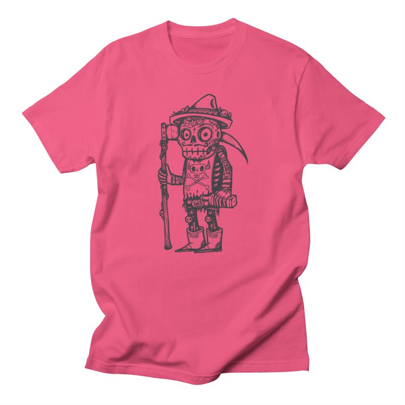 Death Waits Men's Regular T-Shirt by wotto's Artist Shop