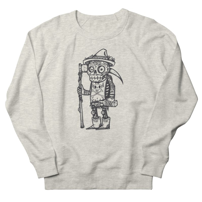 Death Waits Women's French Terry Sweatshirt by wotto's Artist Shop