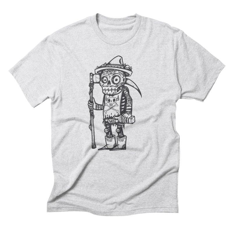 Death Waits Men's Triblend T-shirt by wotto's Artist Shop