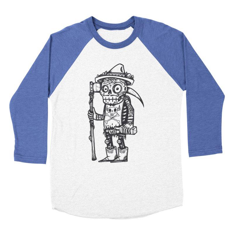 Death Waits Men's Baseball Triblend T-Shirt by wotto's Artist Shop