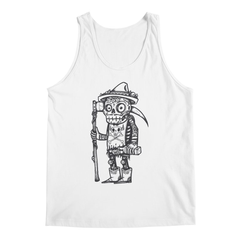 Death Waits Men's Regular Tank by wotto's Artist Shop