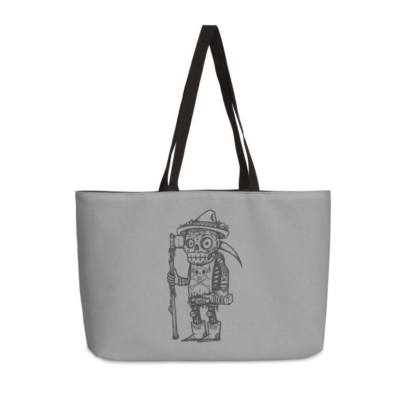Death Waits Accessories Weekender Bag Bag by wotto's Artist Shop
