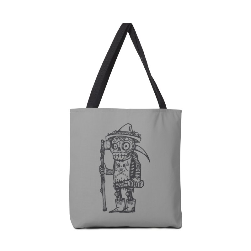 Death Waits Accessories Tote Bag Bag by wotto's Artist Shop