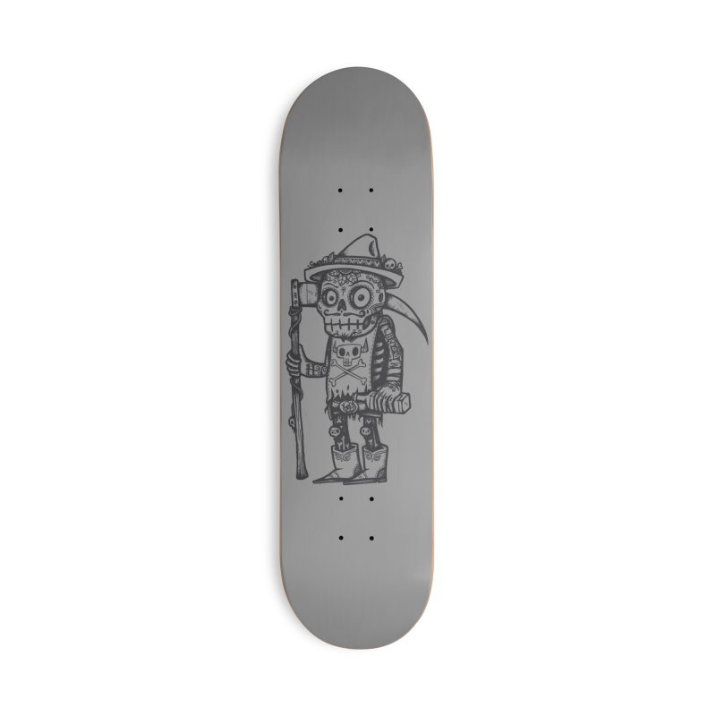 Death Waits Accessories Deck Only Skateboard by wotto's Artist Shop