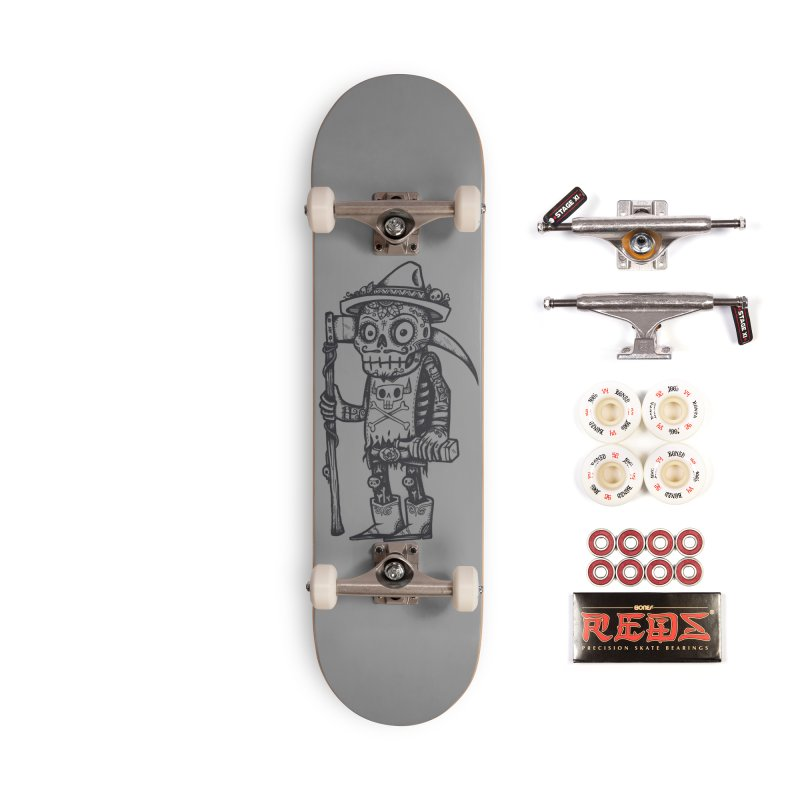 Death Waits Accessories Complete - Pro Skateboard by wotto's Artist Shop