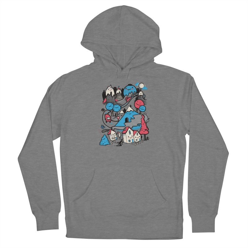 A World Without Humans Men's French Terry Pullover Hoody by wotto's Artist Shop