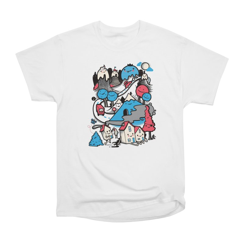 A World Without Humans Women's T-Shirt by wotto's Artist Shop