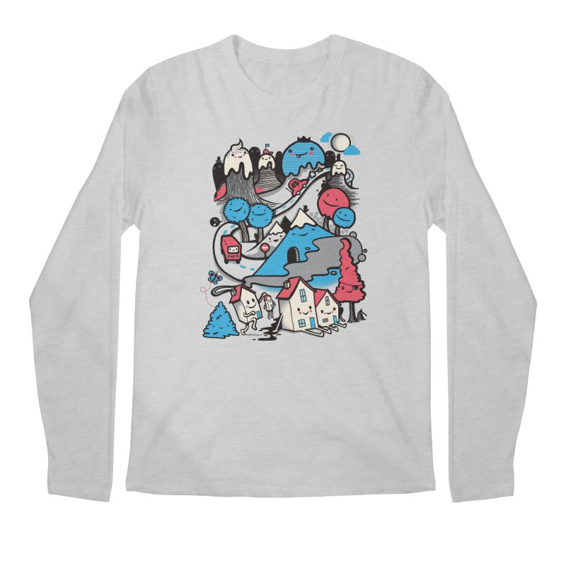 A World Without Humans Men's Longsleeve T-Shirt by wotto's Artist Shop