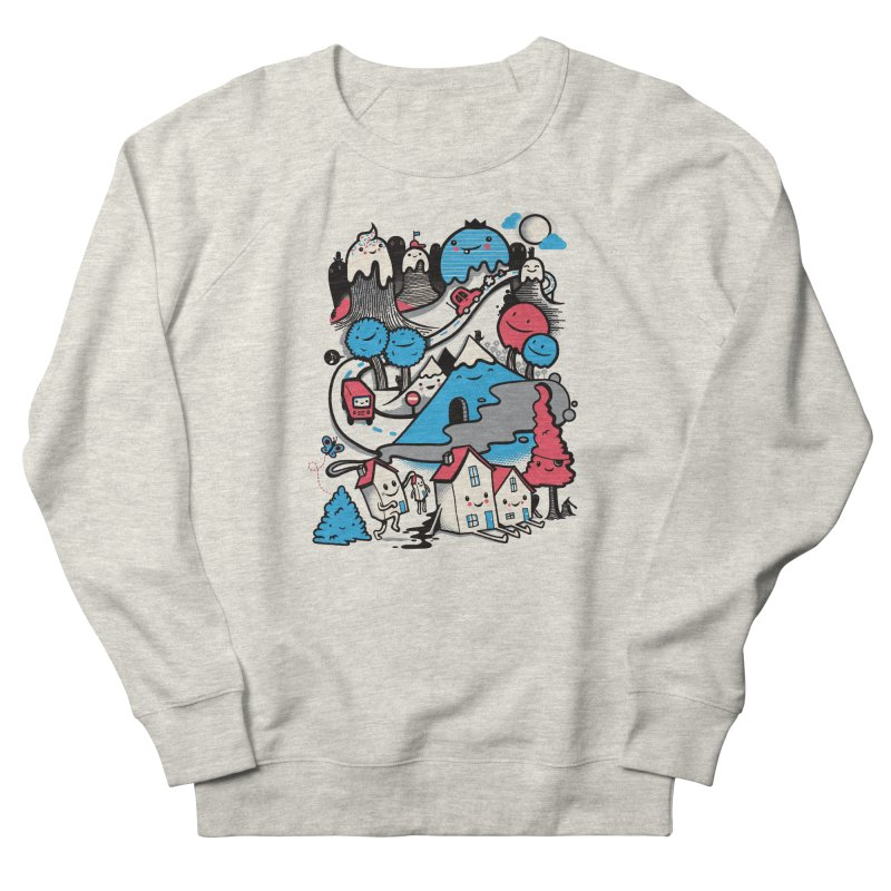 A World Without Humans Men's French Terry Sweatshirt by wotto's Artist Shop