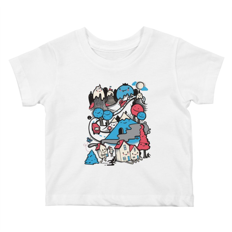 A World Without Humans Kids Baby T-Shirt by wotto's Artist Shop