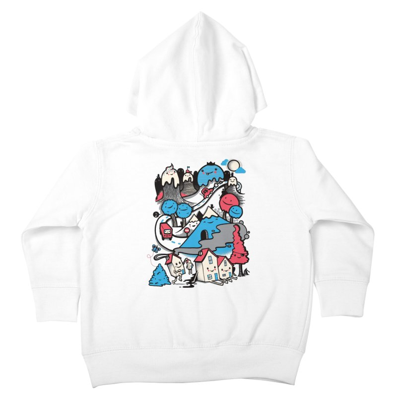 A World Without Humans Kids Toddler Zip-Up Hoody by wotto's Artist Shop