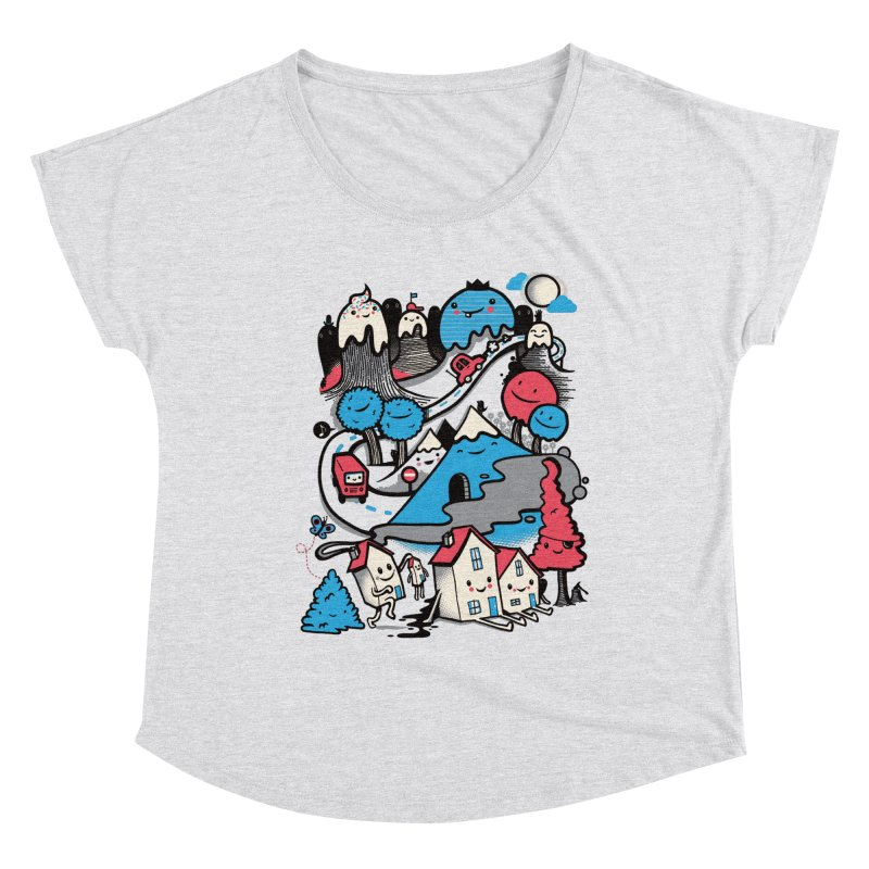 A World Without Humans Women's Dolman Scoop Neck by wotto's Artist Shop