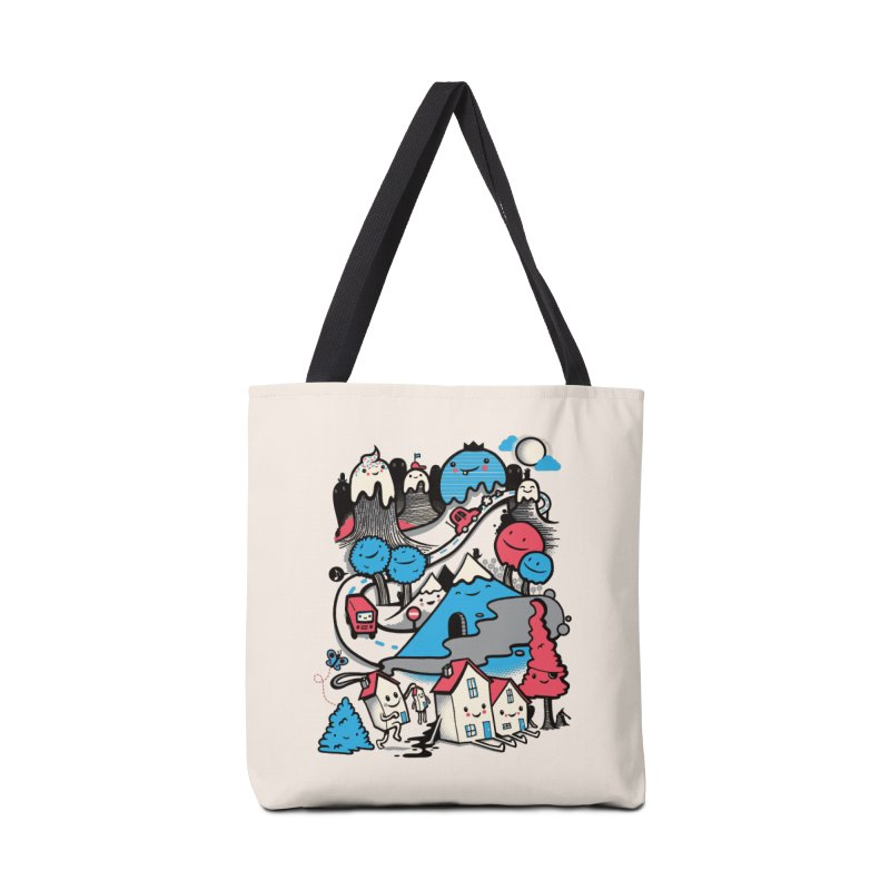 A World Without Humans Accessories Bag by wotto's Artist Shop