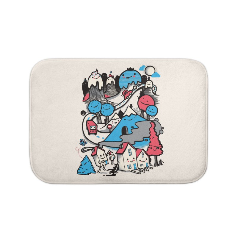 A World Without Humans Home Bath Mat by wotto's Artist Shop
