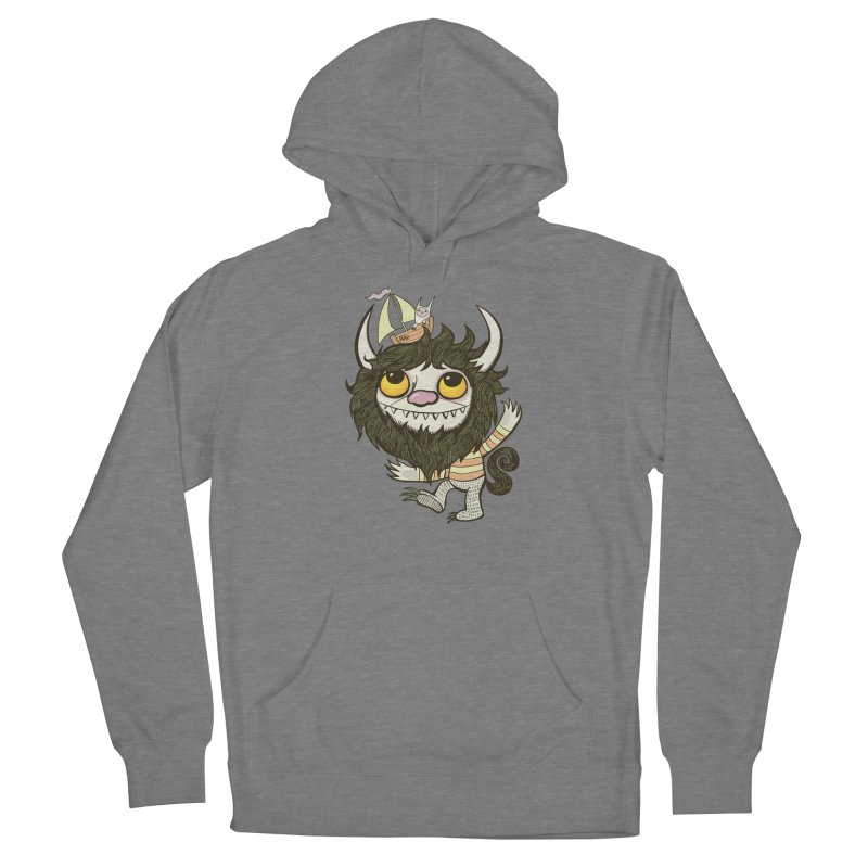 An Ode to the Wild Things Men's French Terry Pullover Hoody by wotto's Artist Shop