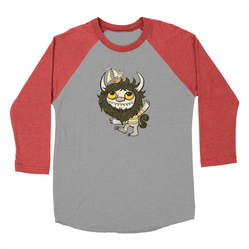 An Ode to the Wild Things Men's Longsleeve T-Shirt by wotto's Artist Shop