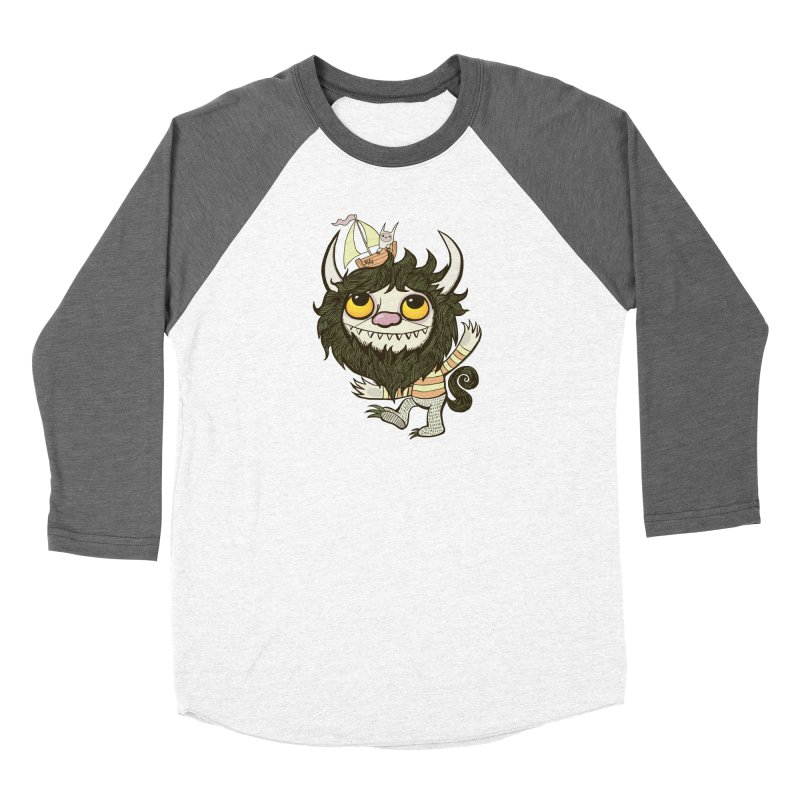 An Ode to the Wild Things Men's Baseball Triblend Longsleeve T-Shirt by wotto's Artist Shop