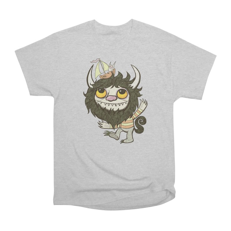 An Ode to the Wild Things Women's Heavyweight Unisex T-Shirt by wotto's Artist Shop