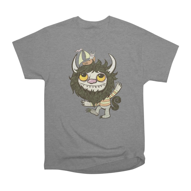 An Ode to the Wild Things Men's Heavyweight T-Shirt by wotto's Artist Shop