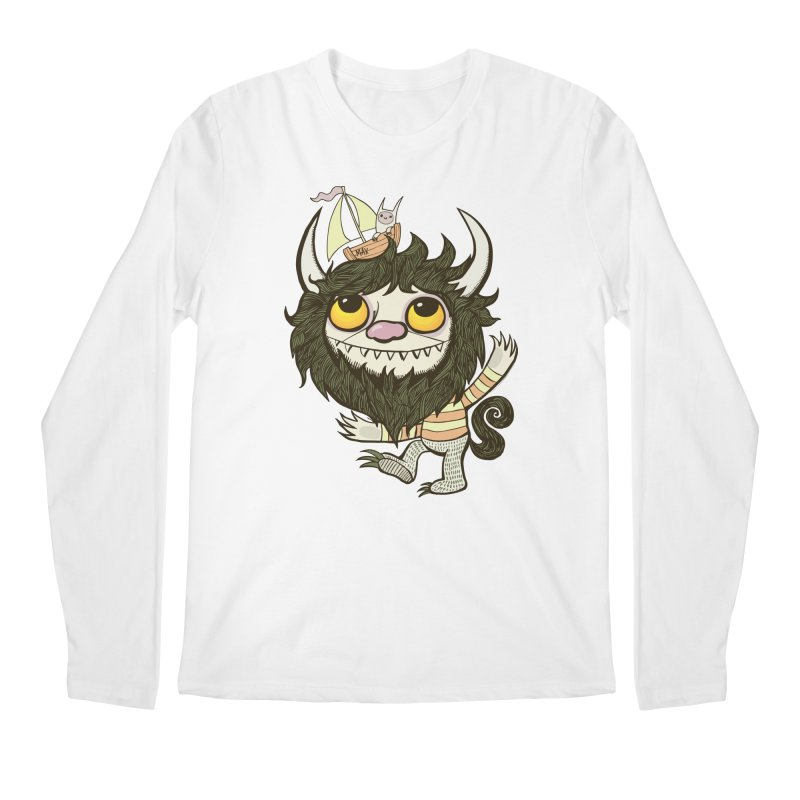 An Ode to the Wild Things Men's Regular Longsleeve T-Shirt by wotto's Artist Shop