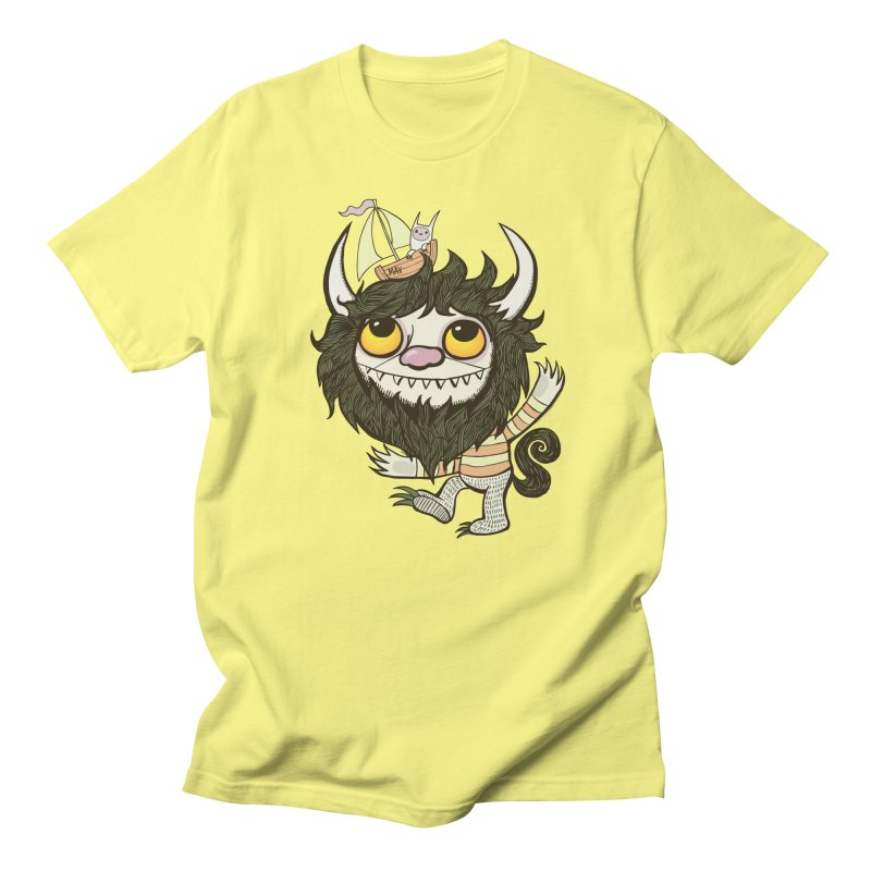An Ode to the Wild Things Men's T-Shirt by wotto's Artist Shop