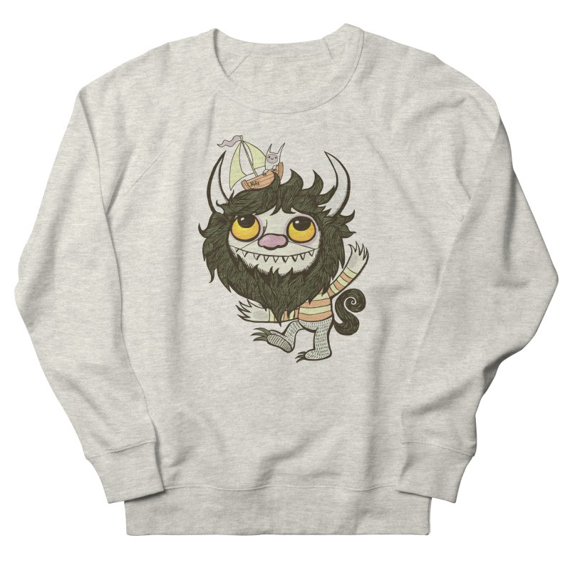An Ode to the Wild Things Men's French Terry Sweatshirt by wotto's Artist Shop