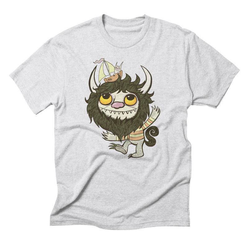 An Ode to the Wild Things Men's Triblend T-Shirt by wotto's Artist Shop