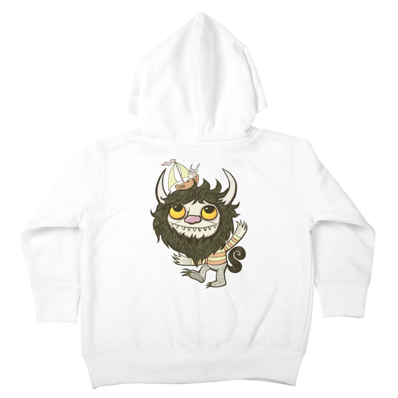 An Ode to the Wild Things Kids Toddler Zip-Up Hoody by wotto's Artist Shop