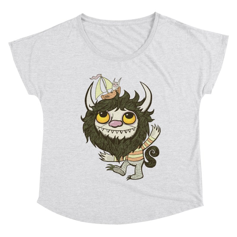 An Ode to the Wild Things Women's Dolman Scoop Neck by wotto's Artist Shop