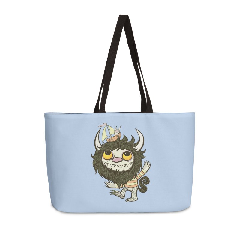An Ode to the Wild Things Accessories Weekender Bag Bag by wotto's Artist Shop