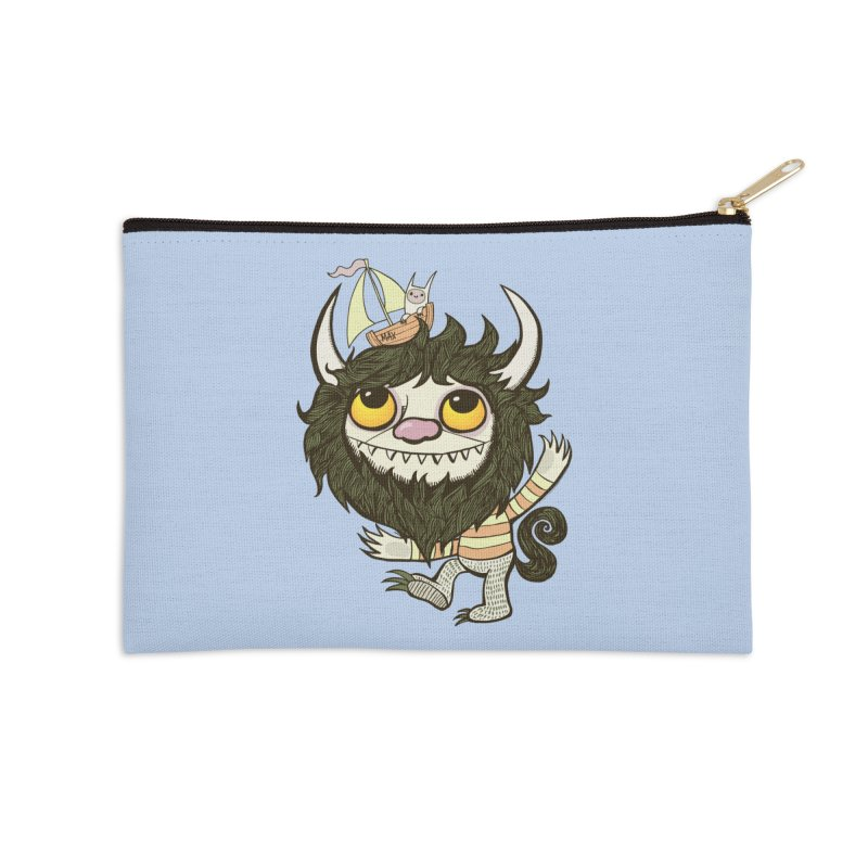 An Ode to the Wild Things Accessories Zip Pouch by wotto's Artist Shop