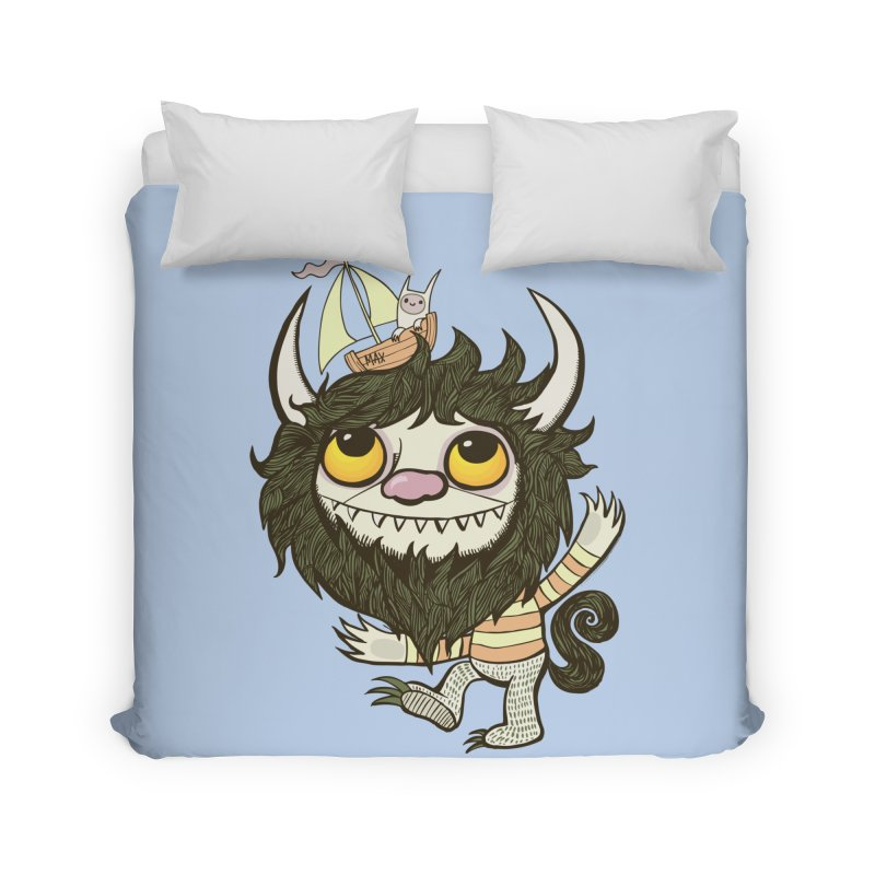 An Ode to the Wild Things Home Duvet by wotto's Artist Shop