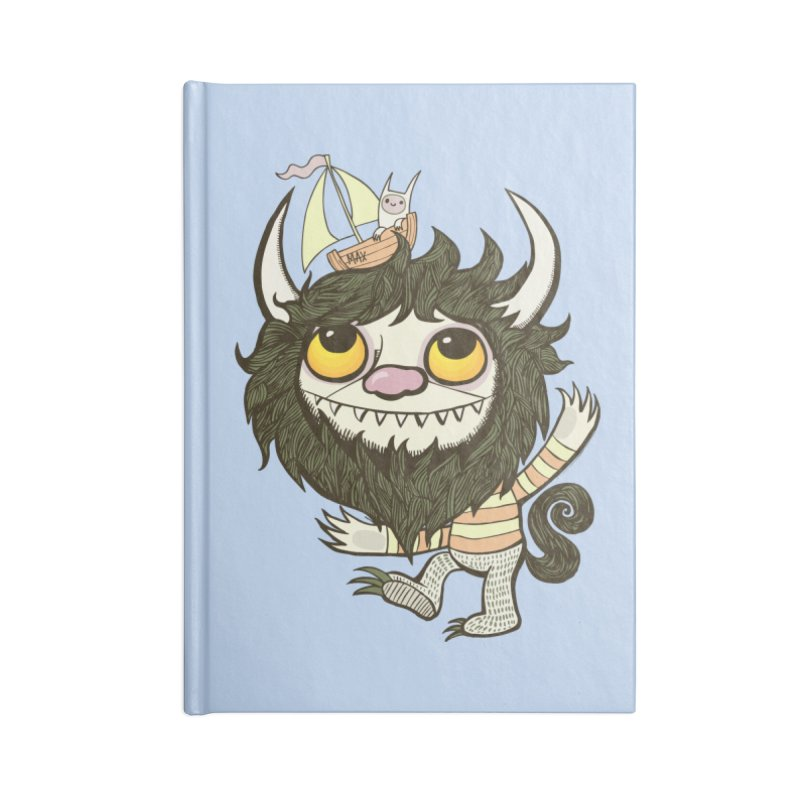 An Ode to the Wild Things Accessories Lined Journal Notebook by wotto's Artist Shop