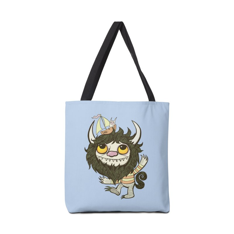 An Ode to the Wild Things Accessories Bag by wotto's Artist Shop