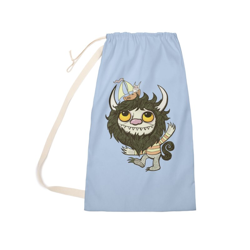 An Ode to the Wild Things Accessories Laundry Bag Bag by wotto's Artist Shop