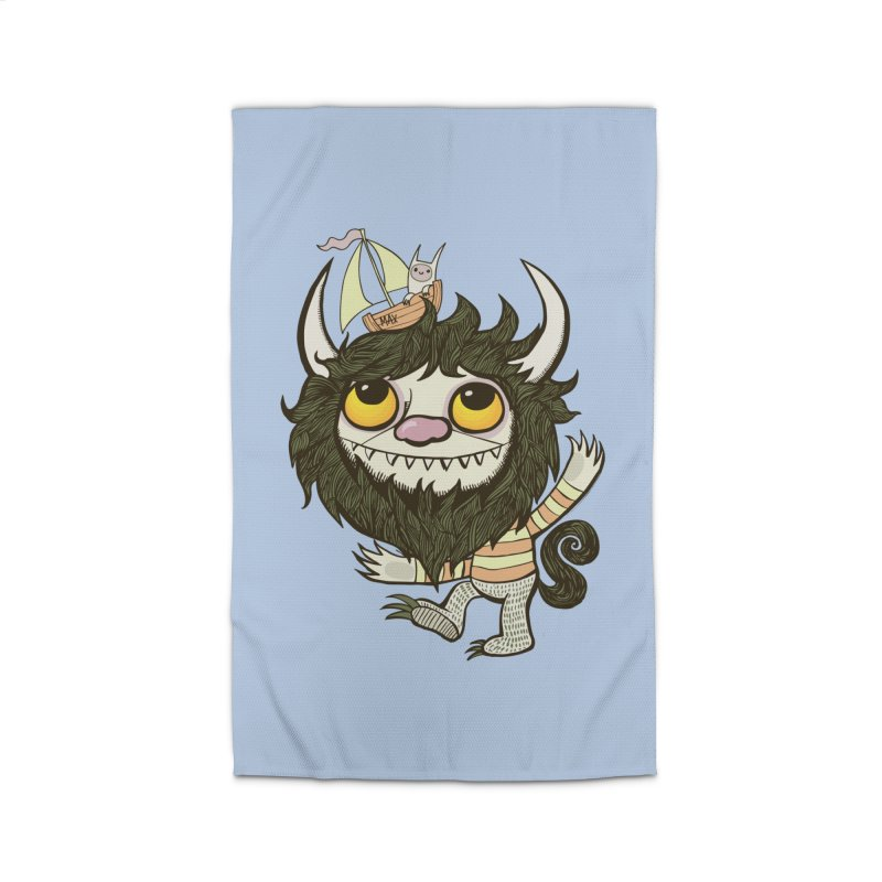 An Ode to the Wild Things Home Rug by wotto's Artist Shop