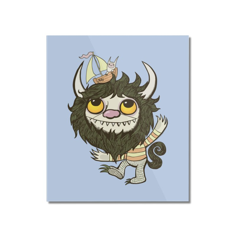 An Ode to the Wild Things Home Mounted Acrylic Print by wotto's Artist Shop