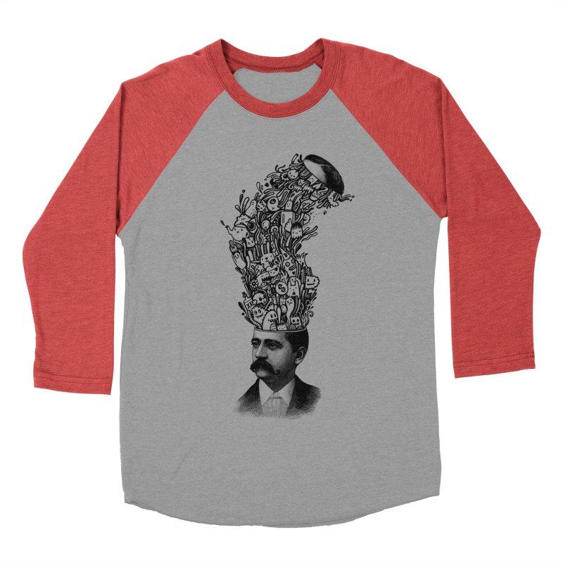 BrainFart Women's Baseball Triblend T-Shirt by wotto's Artist Shop