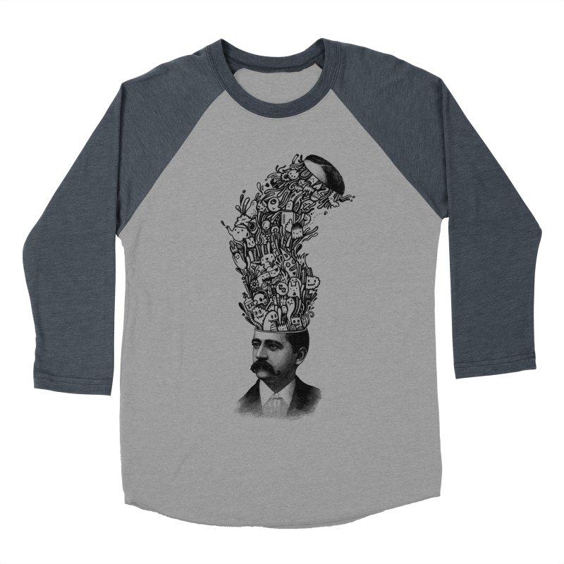 BrainFart Men's Baseball Triblend T-Shirt by wotto's Artist Shop