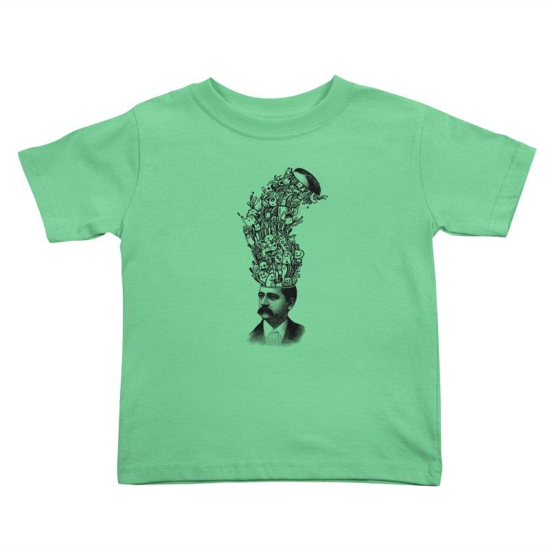 BrainFart Kids Toddler T-Shirt by wotto's Artist Shop