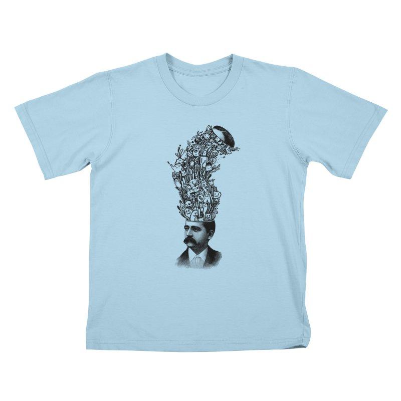 BrainFart Kids T-Shirt by wotto's Artist Shop