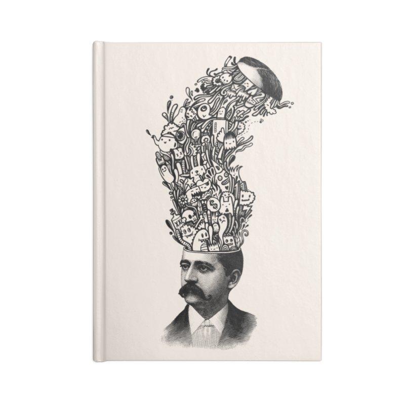 BrainFart Accessories Blank Journal Notebook by wotto's Artist Shop