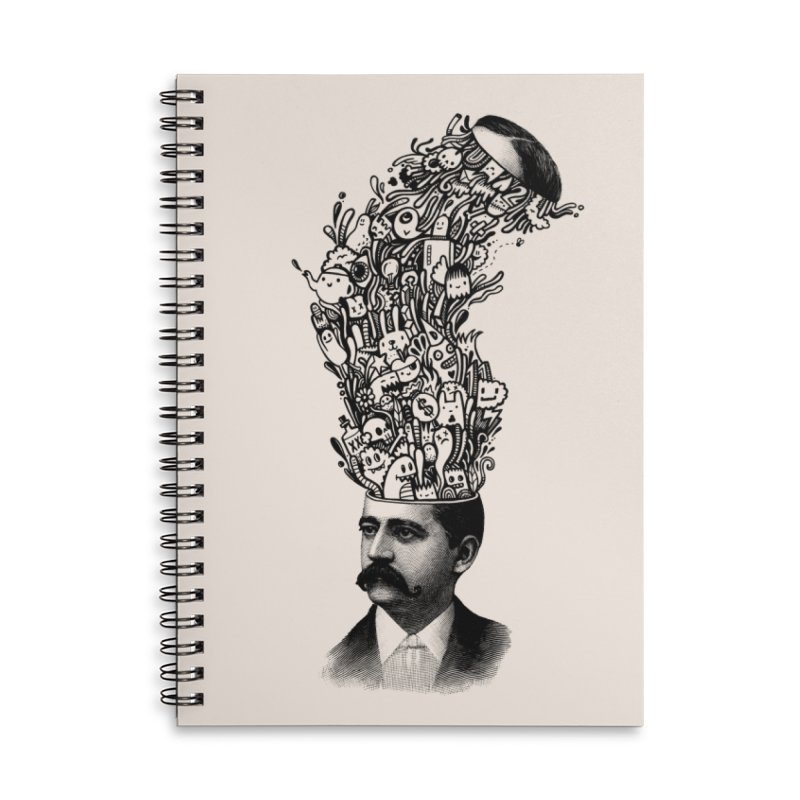 BrainFart Accessories Notebook by wotto's Artist Shop