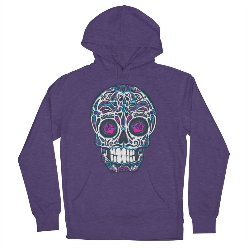 Calavera IV Men's Pullover Hoody by wotto's Artist Shop