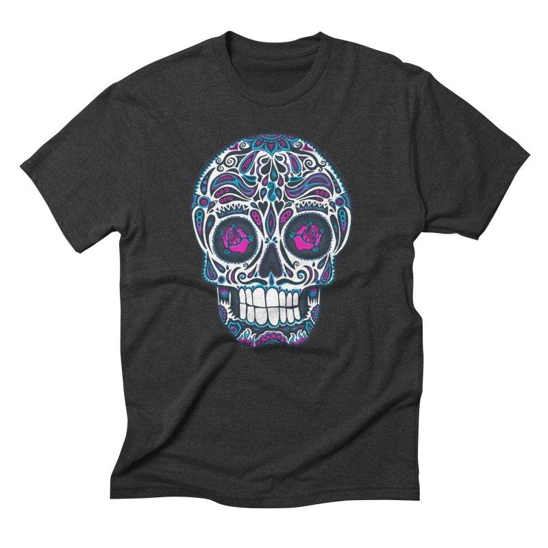 Calavera IV Men's Triblend T-Shirt by wotto's Artist Shop