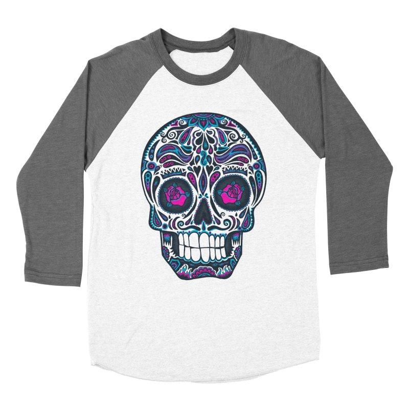 Calavera IV Women's Baseball Triblend T-Shirt by wotto's Artist Shop