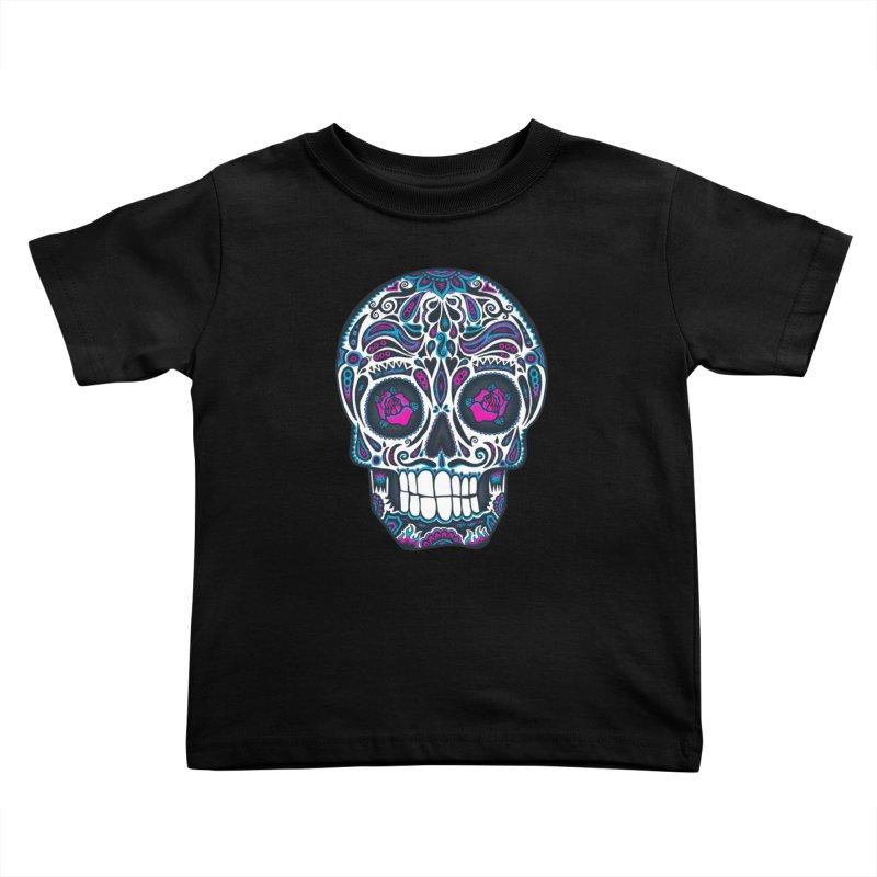Calavera IV Kids Toddler T-Shirt by wotto's Artist Shop