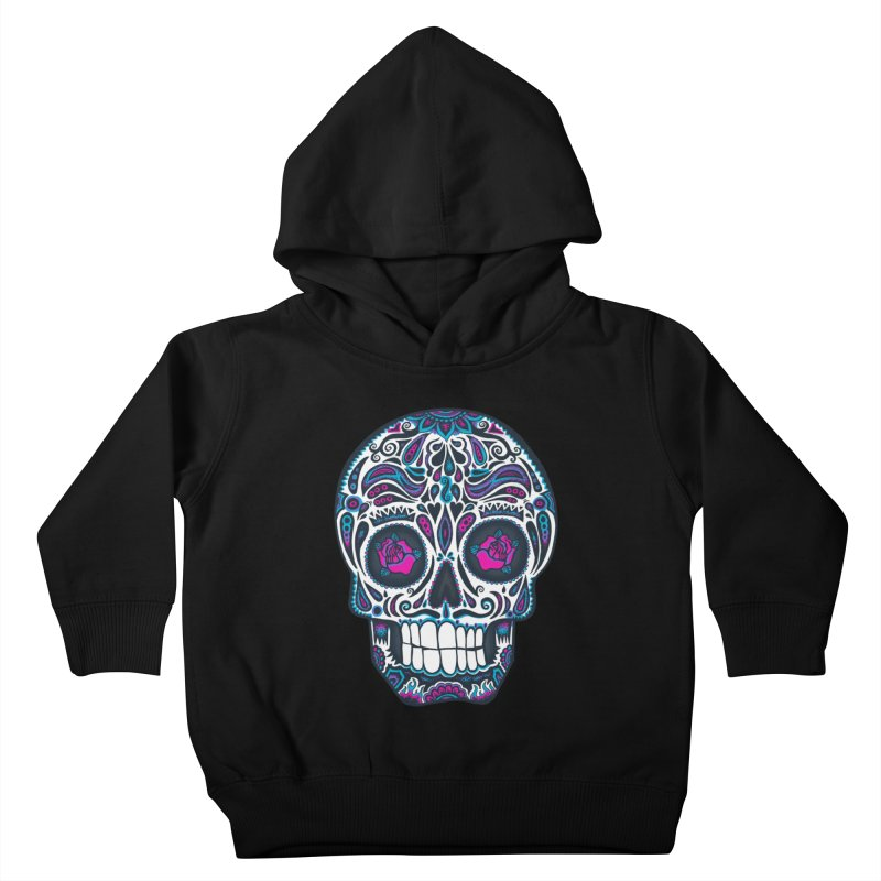Calavera IV Kids Toddler Pullover Hoody by wotto's Artist Shop